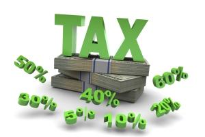 Tax Dollars Percent