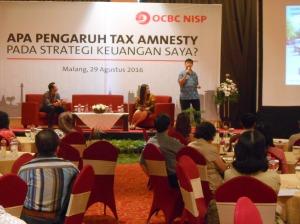 Sosialisasi Pengampunan Pajak bersama Bank OCBC NISP