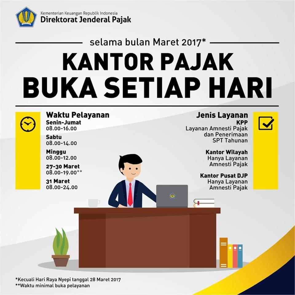 Ingat Tahun Ini Batas Pelaporan Spt Tahunan Orang Pribadi Dan Laporan Berkala Tax Amnesty Di Hari Yang Sama 31 Maret 2017 Pengampunan Pajak